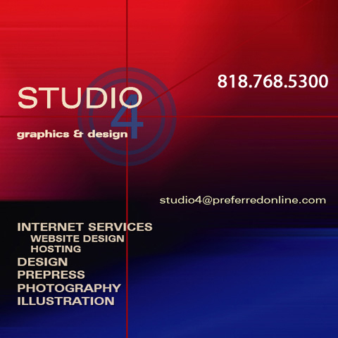 Studio 4 Graphics & Design - Preepress, Design, Photography, Illustration